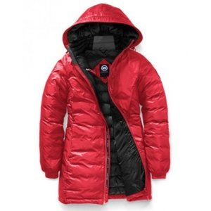 Canada Goose Camp Hooded Jacket in Red - Medium